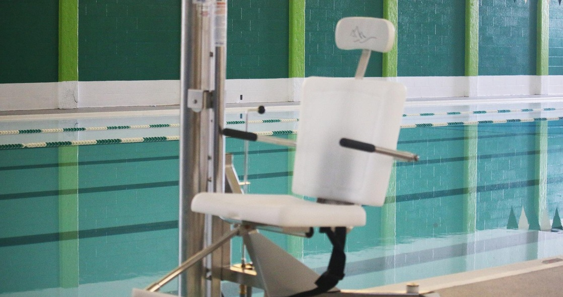 2019 Swimming Seniors Leave Lasting Impact on Pool With Lift Chair