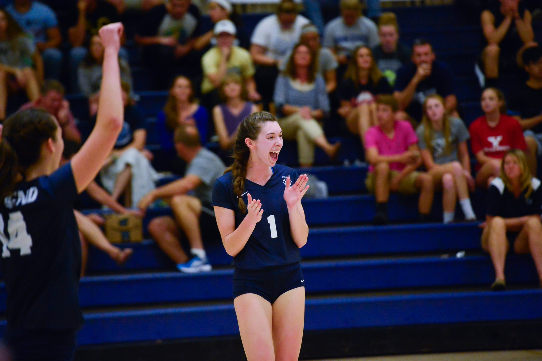 Women's Volleyball Advances to AMCC Championship Game
