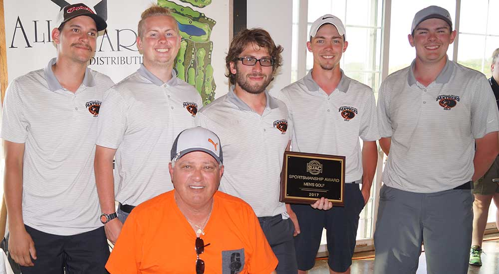 Men's golf gains sportsmanship trophy at SLIAC championships