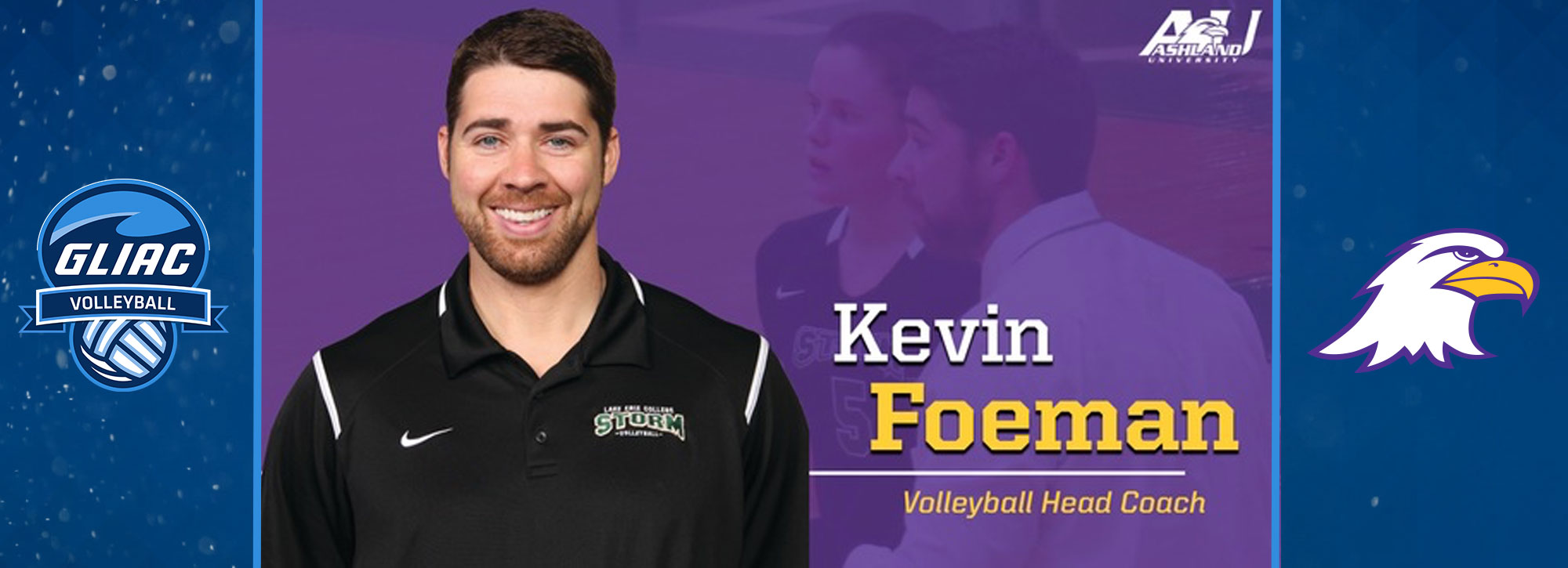 Ashland Names Foeman Next Volleyball Head Coach