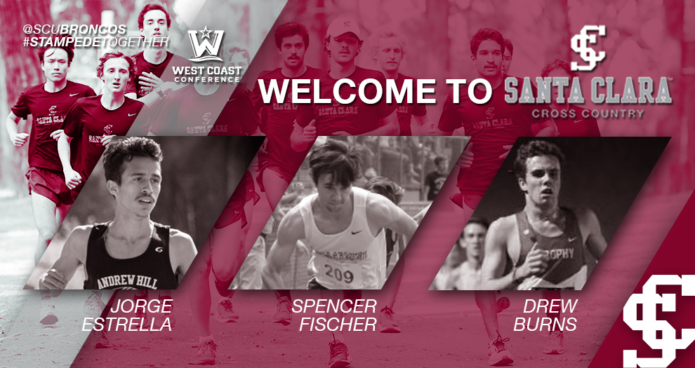 Men's Cross Country/Track & Field Welcomes Three Newcomers