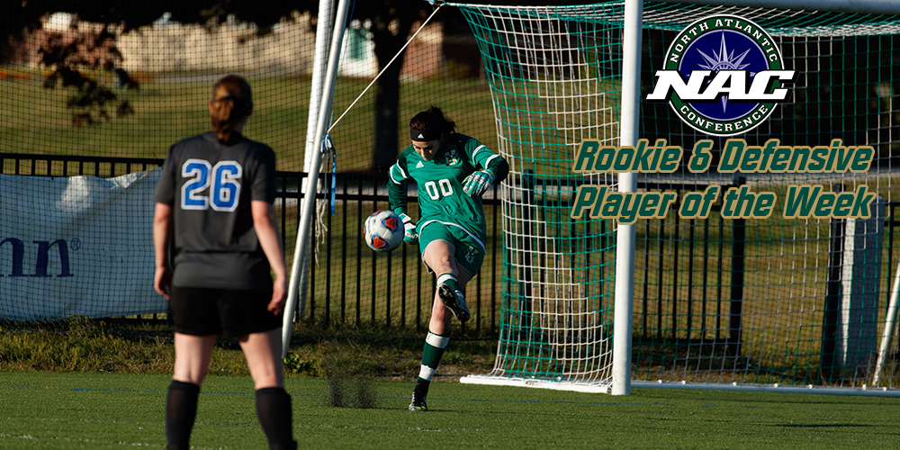 Ireland Earns NAC Rookie and Defensive Player of the Week