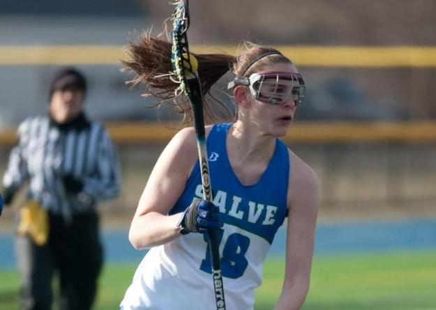 Sarah Livingston led Salve Regina with four goals on Saturday