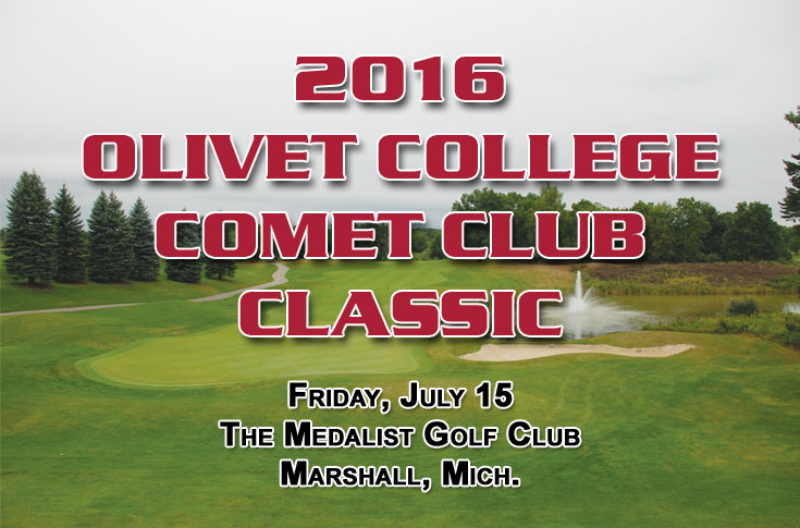 You can still register for the 2016 Olivet College Comet Club Classic!!