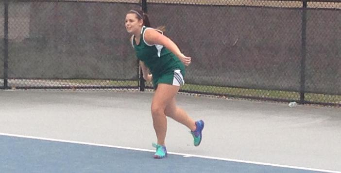 Tennis Teams Sweep Brunswick on the Road