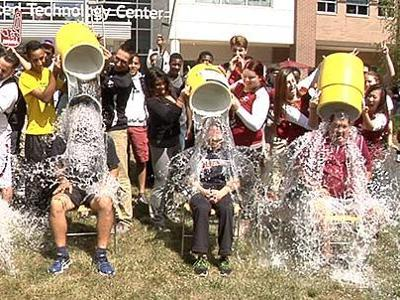 Cooling Off For Charity While Supporting Student-Athletes