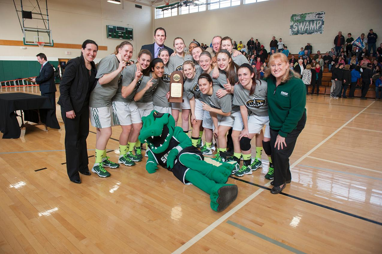 Sage Captures Skyline Title and a Spot in the NCAA Tournament