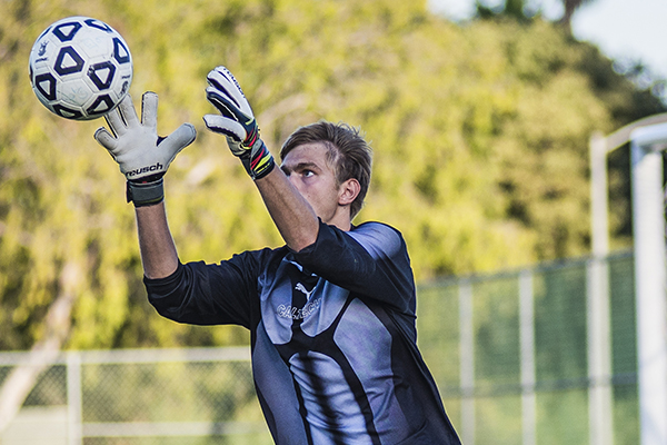 JD is Feisty in Goal, Awarded SCIAC Weekly Honor