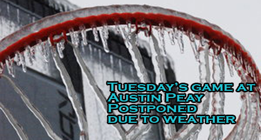 Golden Eagles and Govs postponed until Feb. 18