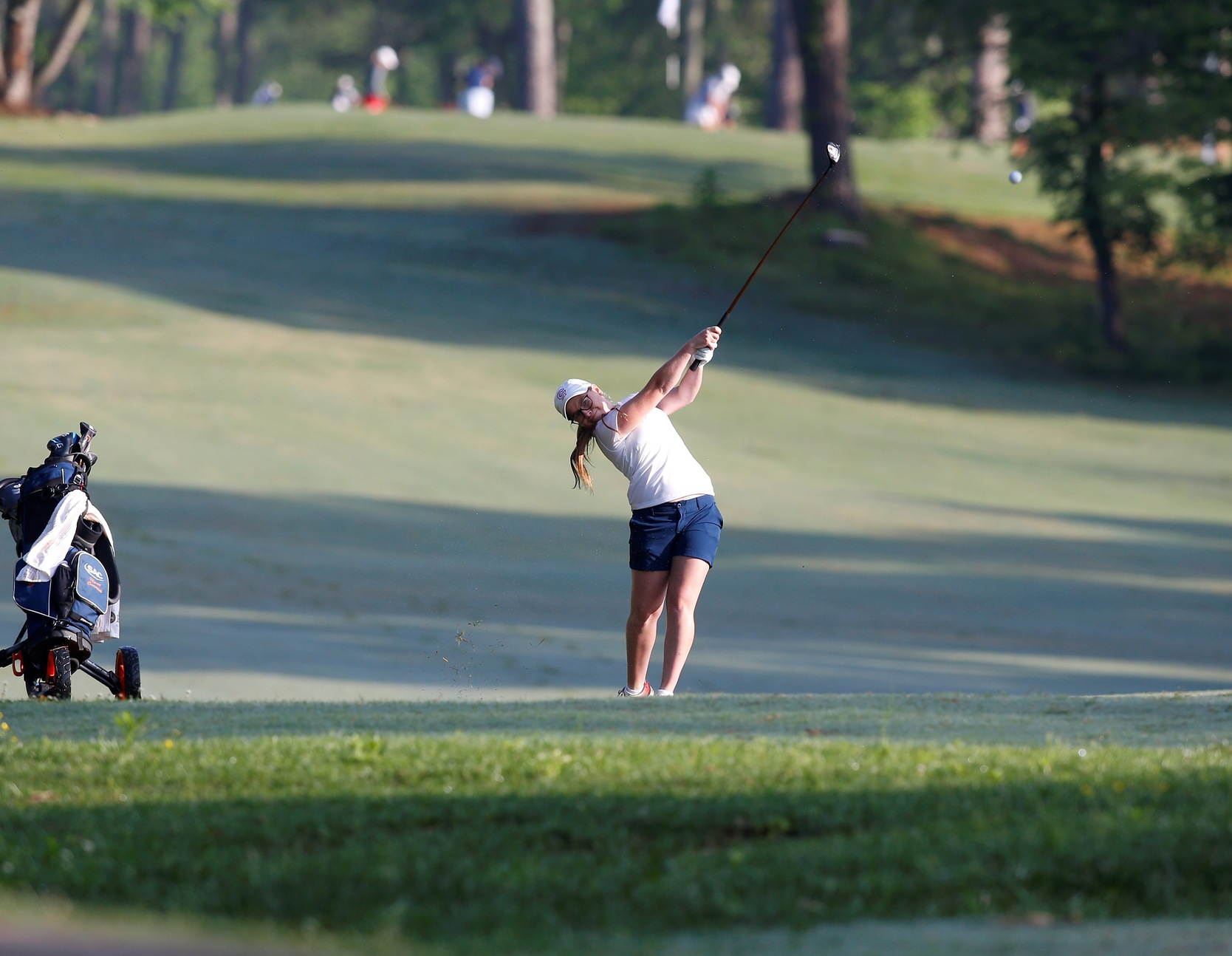 Five-over day sends Cummins into tie for 26th at South Regional