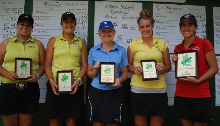Women's Golf Finishes Fifth at O'Brien National Invite