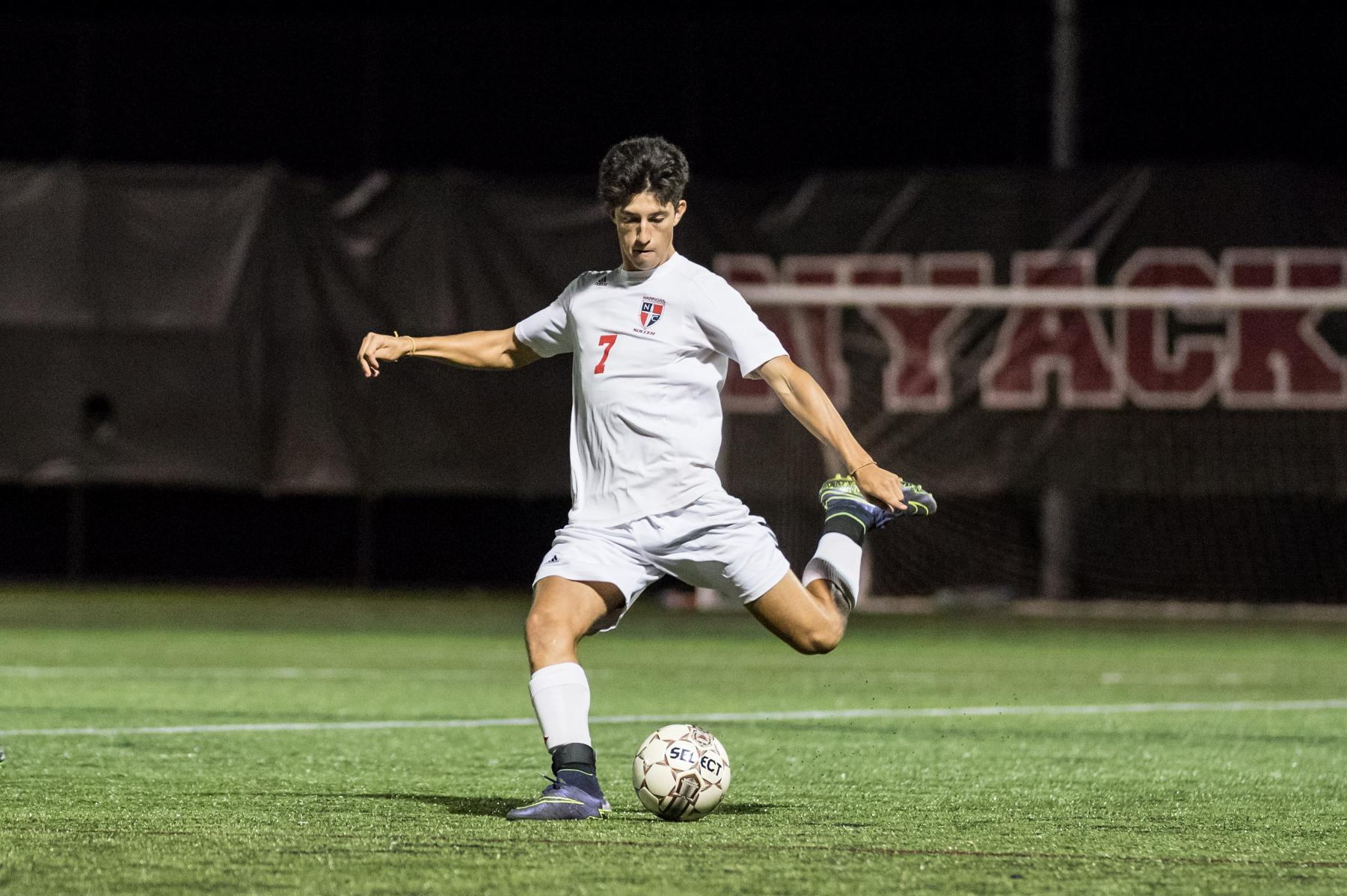 Lions top Nyack Men's Soccer, 0-2