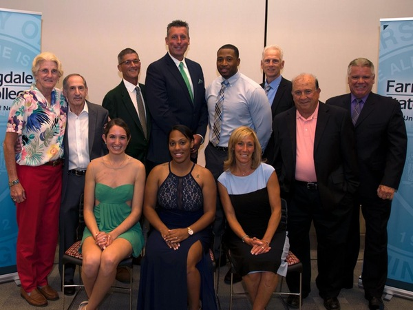 Farmingdale State Athletics Inducts Eight into Hall of Fame