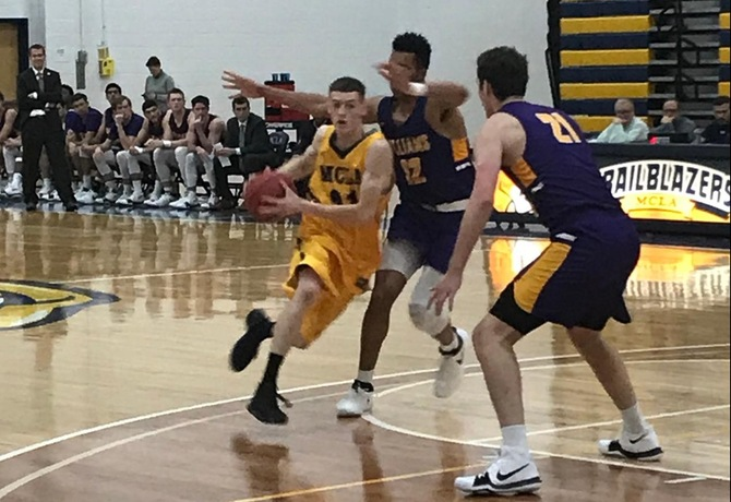 MCLA can't keep pace with Williams, fall to Ephs 97-72
