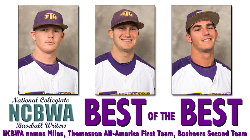 NCBWA tabs three to All-America teams