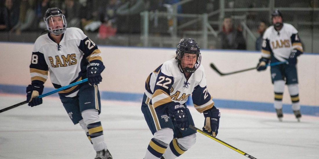 Women's Hockey Comes Back, Forces 2-2 Tie at UMass Boston