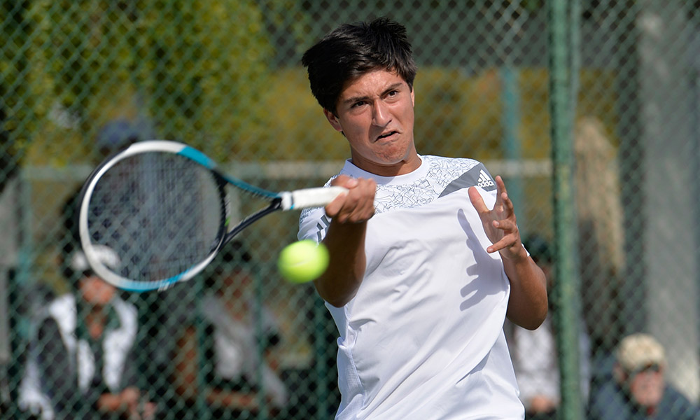 MEN'S TENNIS FALLS AT UC DAVIS