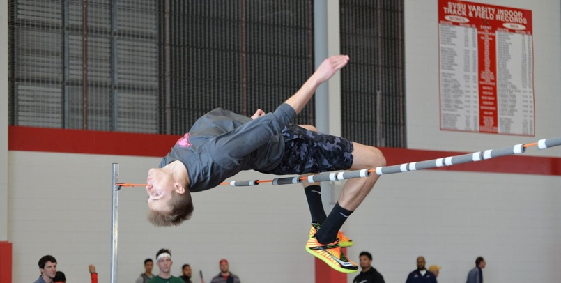 VanderVeen Wins the Men's High Jump Competition at GVSU Big Meet - Day 2