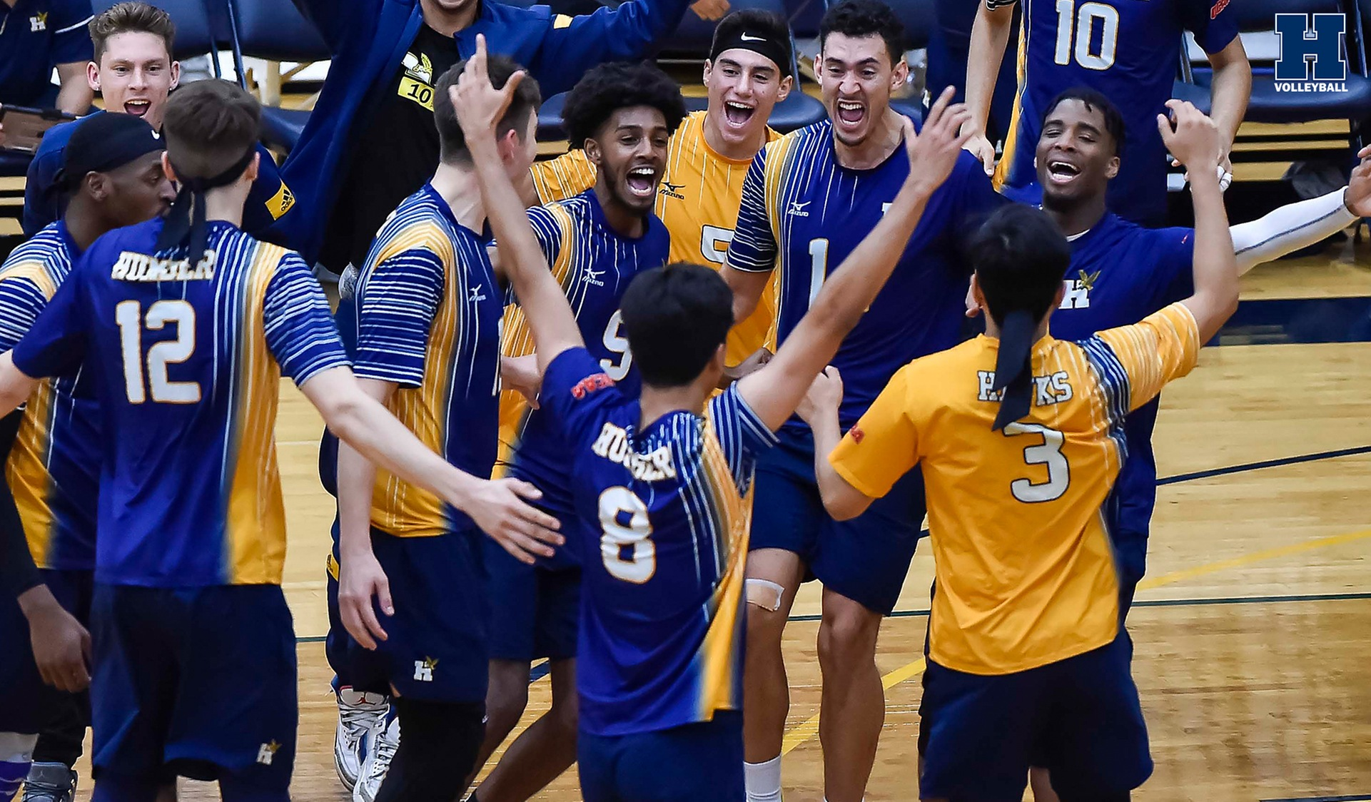 No. 2 Men's Volleyball Grab Sixth Straight Win