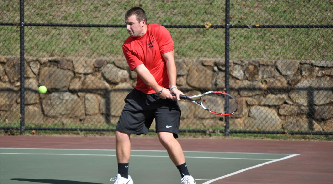 Hornet Men's Tennis Defeated by Guilford 7-2