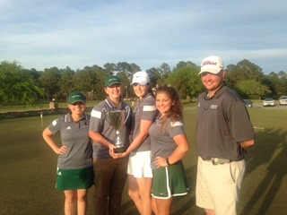 Boys and Girls Claim Second in Golf Tournament