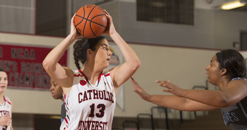 Errico's 21 Points Push Catholic Past Oberlin, 68-41