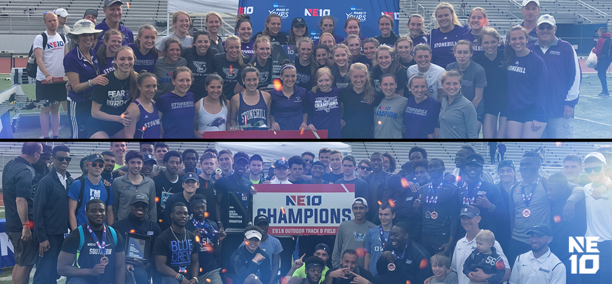 Embrace The Championship: Once Again - Southern Connecticut Men, Stonehill Women - are NE10 Outdoor Track & Field Champions
