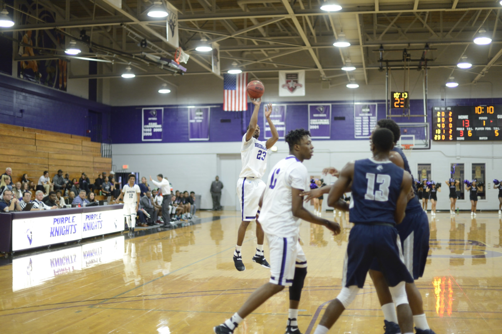 Men's Basketball Sees Five-Game Winning Streak Snapped At St. Thomas Aquinas In ECC Upper Echelon Battle