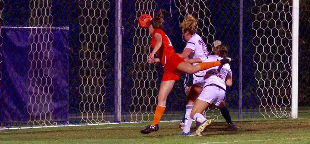 Newby scores in overtime as Pioneers rally for 2-1 win at Catawba