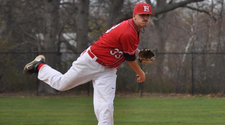Baseball Splits with Illinois College on Opening Day