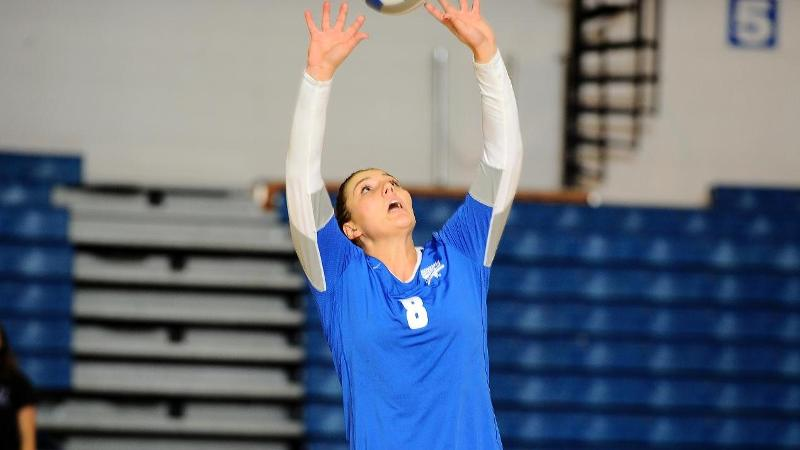 Winning Streak at 10; Volleyball Sweeps FDU