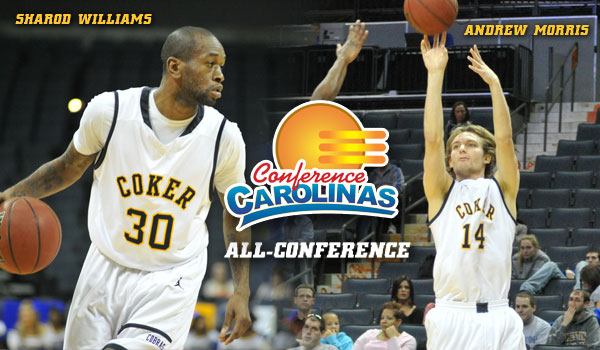Coker's Williams and Morris Named All-Conference