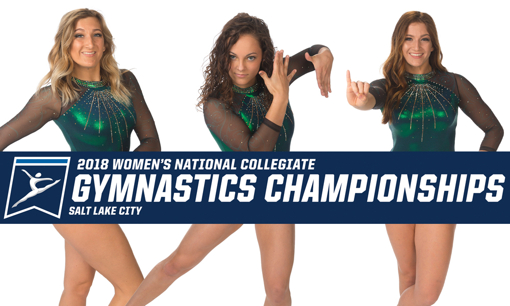 THREE GYMNASTS BEGIN NCAA POSTSEASON ON SATURDAY