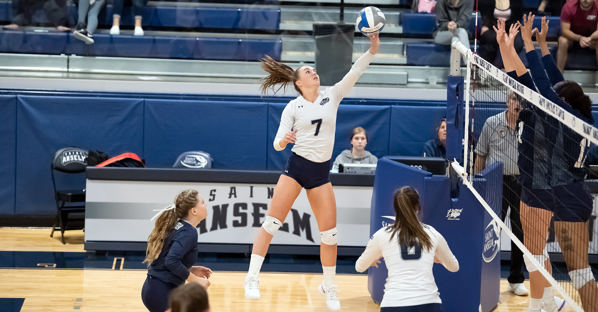 McCarthy leads volleyball to two wins at AIC Invitational
