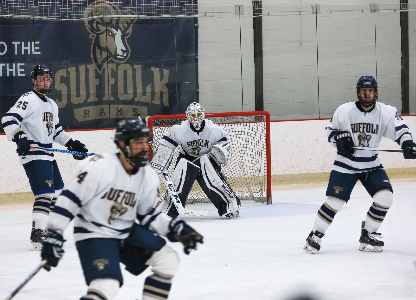 Men's Hockey Faces UNE, Franklin Pierce this Weekend