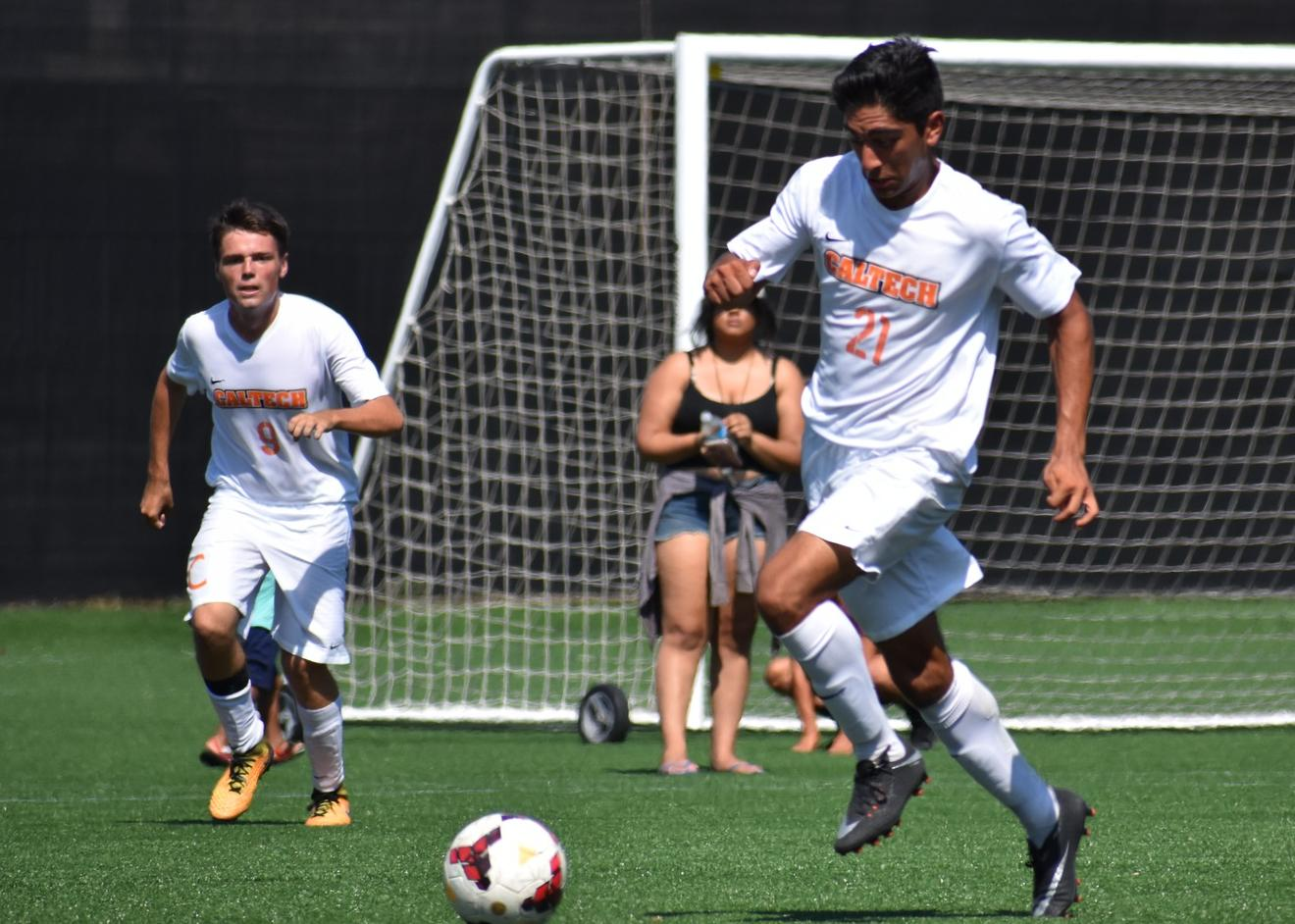 Men's Soccer Gets First NCAA Win in Seven Years