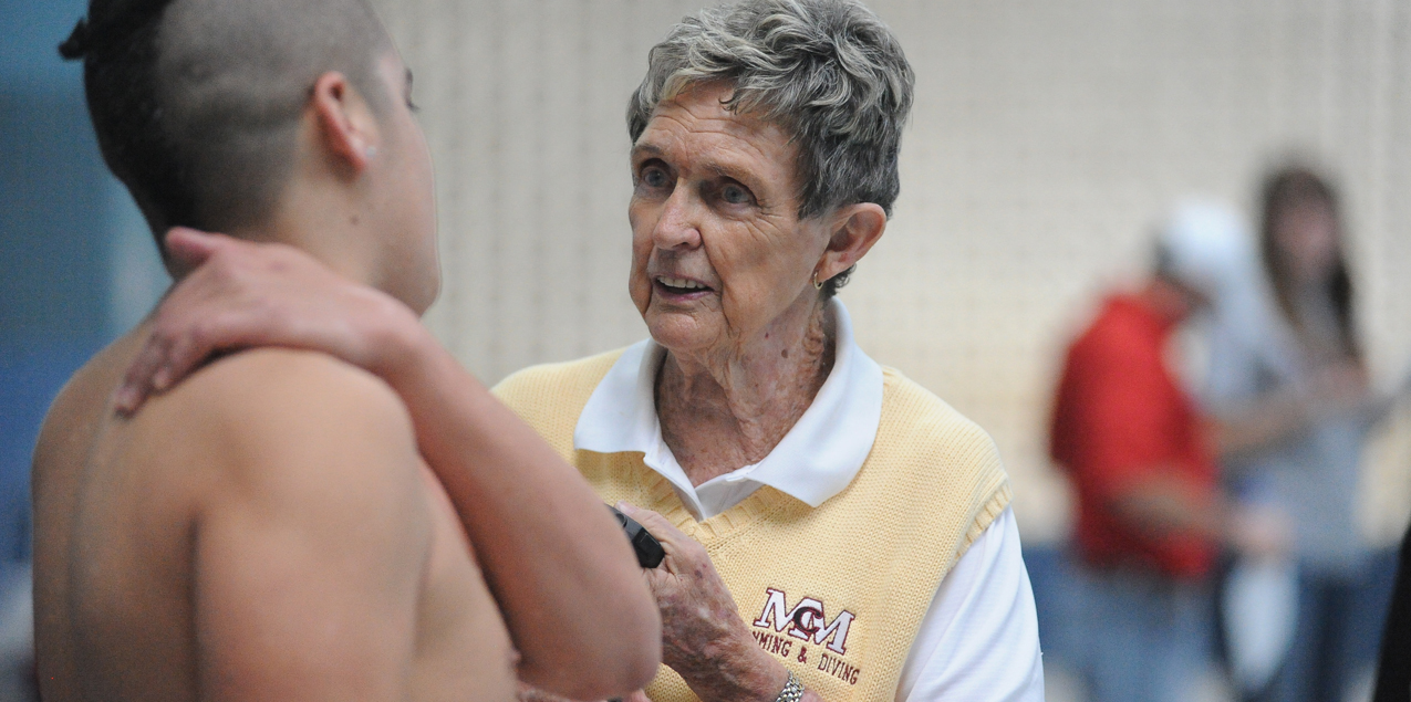 McMurry Head Swimming Coach Bev Ball Retires