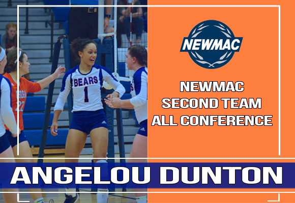 Dunton Named Second Team All Conference