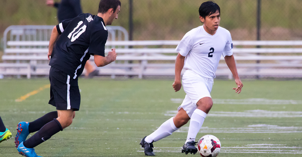 Men's Soccer Erases Early Deficit, But Comeback Bid Falls Short to Mount Saint Vincent