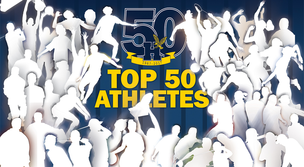 ATHLETICS SET TO REVEAL ITS TOP 50 ATHLETES