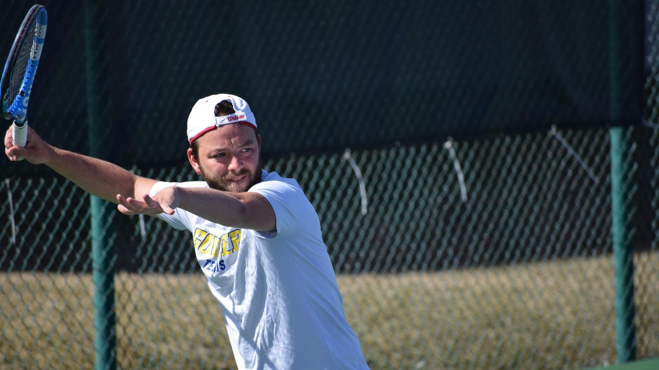 Goucher Men's Tennis Heads To The Garden State To Face No. 40 College Of New Jersey On Sunday