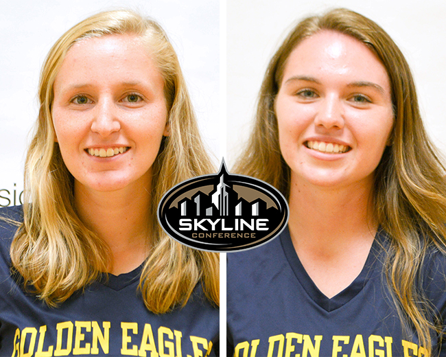 MacDonell and Haviland Named Skyline Runner and Rookie of the Week