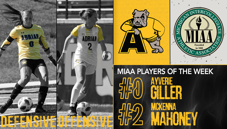 Women's Soccer Sweeps Player of the Week Awards for Second Time this Season