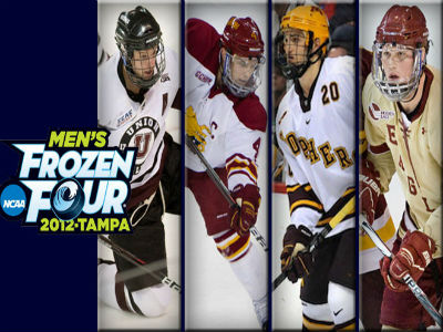 First Of Its Kind Frozen Four Social Media Effort