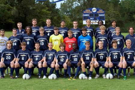 Lander ends men's soccer season