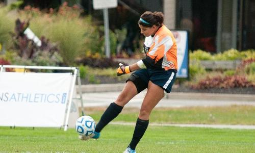 Brouillette Makes 10 Saves in Women's Soccer Setback