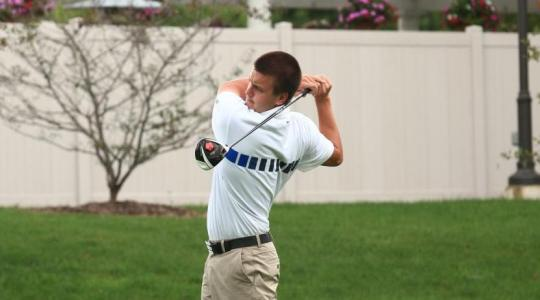Falcon men's golf competes at MSOE Invite