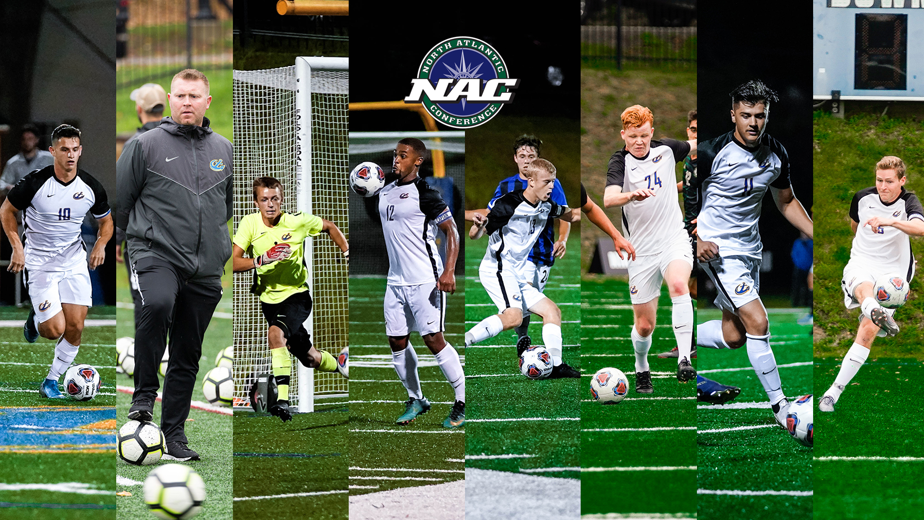 Caron and Shannon Earn Major NAC Awards as Mariners Place Seven on All-Conference Teams