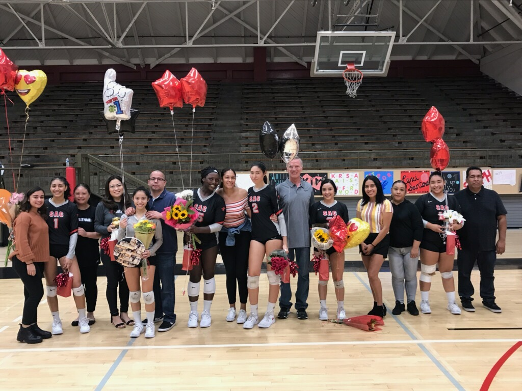Santa Ana Takes the Rustlers to Five Sets on Sophomore Night