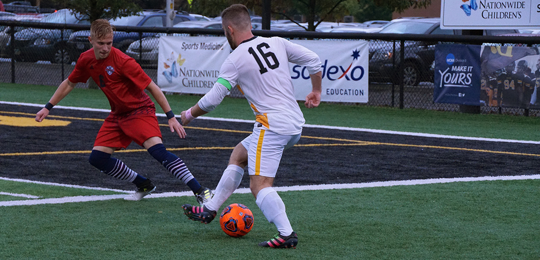 Men's Soccer Falls 2-1 In Great Midwest Quarterfinal At Davis & Elkins